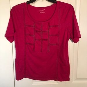 Bright Pink Talbots T-shirt